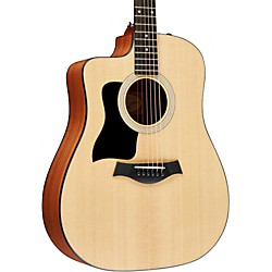 Taylor 110ce-L Sapele/Spruce Dreadnought Left-Handed Acoustic-Electric Guitar (110CE-L-2012)