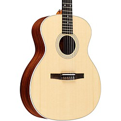 Taylor 2012 214e-N-L Rosewood/Spruce Nylon String Grand Auditorium Left-Handed Acoustic-Electric Guitar (214E-N-L-2012)