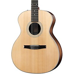 Taylor 214eN Rosewood/Spruce Nylon String Grand Auditorium Acoustic-Electric Guitar (214E-N-2012)