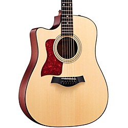 Taylor 310ce-L Sapele/Spruce Dreadnought Left-Handed Acoustic-Electric Guitar (310CE-L-2012)