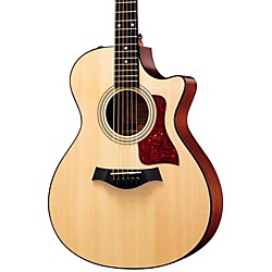 Taylor 312ce Sapele/Spruce Grand Concert Acoustic-Electric Guitar (312CE-2012)
