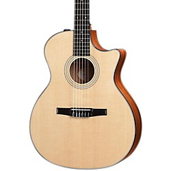Taylor 314ce-N Sapele/Spruce Nylon String Grand Auditorium Acoustic-Electric Guitar (314CE-N-2012)