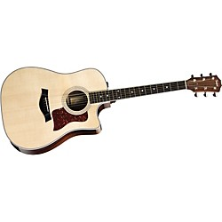 Taylor 410ce-L Ovangkol/Spruce Dreadnought Left-Handed Acoustic-Electric Guitar (410CE-L-2012)
