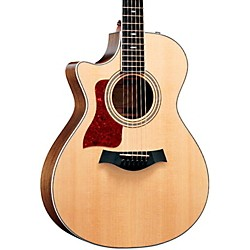 Taylor 412ce-L Ovangkol/Spruce Grand Concert Left-Handed Acoustic-Electric Guitar (412CE-L-2012)