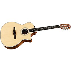 Taylor 414ce-N Ovangkol/Spruce Nylon String Grand Auditorium Acoustic-Electric Guitar (414CE-N-2012)