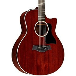 Taylor 566ce Grand Symphony 12-Sting Cutaway ES2 Acoustic-Electric Guitar (566ceES2)