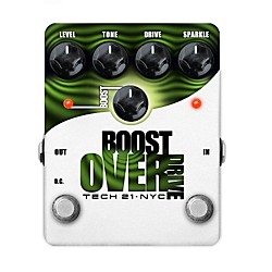 Tech 21 Boost Overdrive Analog Overdrive Guitar Effects Pedal (USED004000 BST-O)