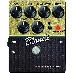 Tech 21 SansAmp Character Series Blonde V2 Distortion Guitar Effects Pedal (USED004000 CS-BL-V2)