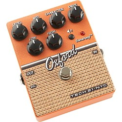 Tech 21 SansAmp Character Series Oxford Distortion Guitar Effects Pedal (USED004000 CS-OX)