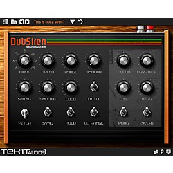 Tek'it Audio DubSiren Virtual Synthesizer Plig-in Software Download (1035-167)