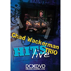 The Drum Channel Chad Wackerman Trio Hits Live DVD (93-DV10003801)