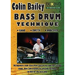 The Drum Channel Colin Bailey - Bass Drum Technique DVD (93-DV10003001)