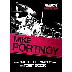 The Drum Channel Mike Portnoy - On the 'Art of Drumming' Show DVD with Terry Bozzio (93-DV10015505)