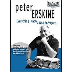 The Drum Channel Peter Erskine - Everything I Know: A Work In Progress (2-DVDa) (93-DV10000601)