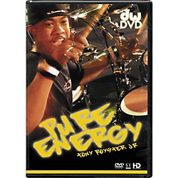 The Drum Channel Pure Energy: Tony Royster Jr. DVD (77-5PEDVD)