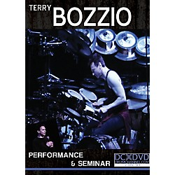The Drum Channel Terry Bozzio - Performance & Seminar 2 DVDs (93-DV10029002)