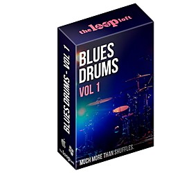 The Loop Loft Blues Drum Loops Vol 1 Software Download (1091-6)