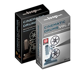 The Loop Loft Cinematic Drums Reason ReFill Bundle Software Download (1091-13)