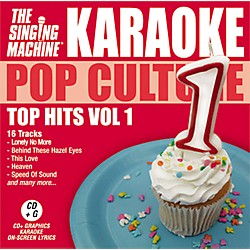 The Singing Machine Pop Culture Top Hits Volume 1 Karaoke CD+G (G3501)