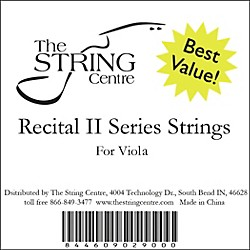 The String Centre Recital II Viola String Set (RECIIVASTRNG44SET)
