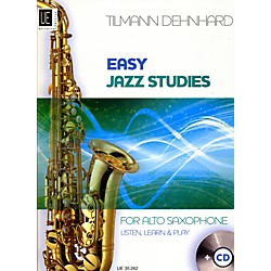 Theodore Presser Easy Jazz Studies (Book + CD) (UE035262)