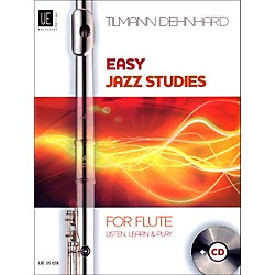 Theodore Presser Easy Jazz Studies For Flute (Book/CD) (UE035028)