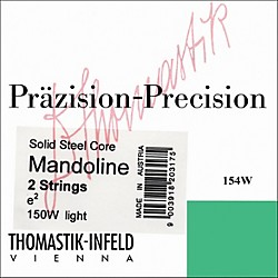 Thomastik 154W Tin-plated Steel Flatwound Mandolin Strings (154W)