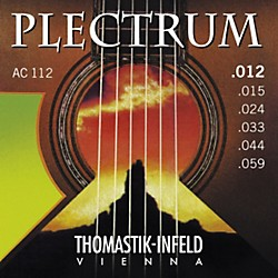 Thomastik AC112 Plectrum Bronze Acoustic Strings Medium Light (AC112)