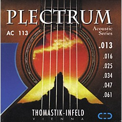 Thomastik AC113 Plectrum Bronze Medium Acoustic Guitar Strings (AC113)