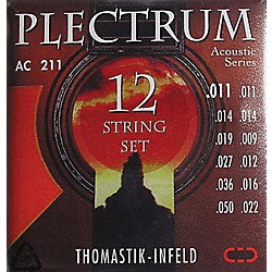 Thomastik AC211 Plectrum Bronze Light Acoustic 12-String Guitar Strings (AC211)