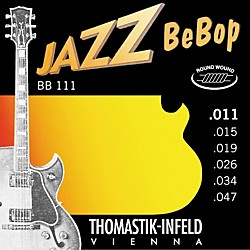 Thomastik BB111 Extra Light Jazz BeBop Guitar Strings (BB111)