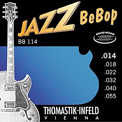 Thomastik BB114 Medium Jazz BeBop Guitar Strings (BB114)