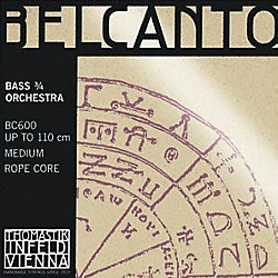 Thomastik Belcanto 3/4 Size Double Bass Strings (BC600)