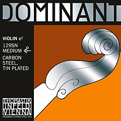 Thomastik Dominant Violin 4/4 Tin-plated E String (129SN)