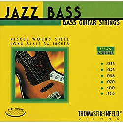 Thomastik JF346 Flatwound Scale 6-String Jazz Bass Strings (JF346)