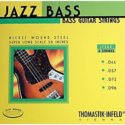 Thomastik JF364 Flatwound Super Long Scale 4-String Jazz Bass Strings (JF364)