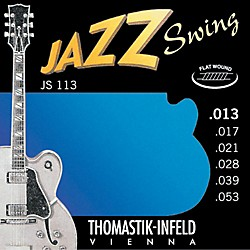 Thomastik JS113 Medium Flatwound Jazz Swing Electric Guitar Strings (JS113)
