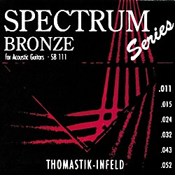 Thomastik SB111 Spectrum Bronze Acoustic Strings Light (SB111)