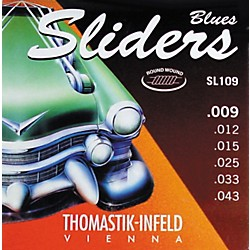 Thomastik SL109 Sliders Light Electric Guitar Strings (SL109)