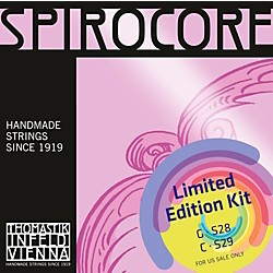 Thomastik Spirocore Cello Chrome G&C Value Pack (S28_S29)