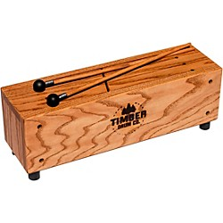 Timber Drum Company Slit Tongue Log Drum with Mallets (T22)