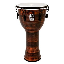 Toca Spun Copper Mechanically Tuned Djembe (TF2DM-12SC)