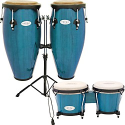 Toca Synergy Conga Set with Stand and Bongos (KIT-450795)