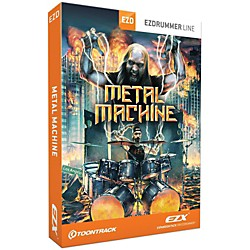 Toontrack Toontrack Metal Machine EZX Software Download (TT173SN)