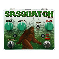 Tortuga Sasquatch Silicon Fuzz Guitar Effects Pedal (USED004000 SSI)