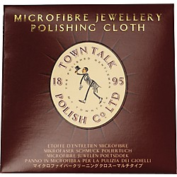 Town Talk Polish Mini Wallet Silver Polishing Cloth (TT-055)