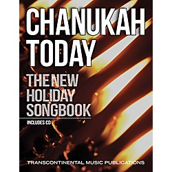 Transcontinental Music Chanukah Today - New Holiday Songbook Book/CD (191700)