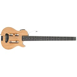 Traveler Guitar Escape MK-II Acoustic-Electric Travel Bass Guitar, Natural (USED004000 MK-II BASS)