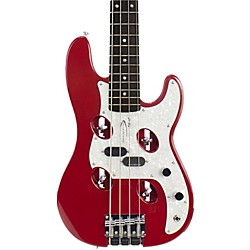 Traveler Guitar TB-4P Electric Travel Bass (TB4P RED)