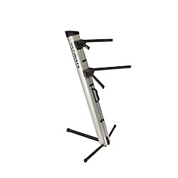 Ultimate Support APEX AX-48 Pro Keyboard Stand - Silver (17476)
